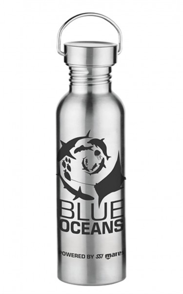 MISSION DEEP BLUE - Stainless Steel Drinking Bottle 750 ml