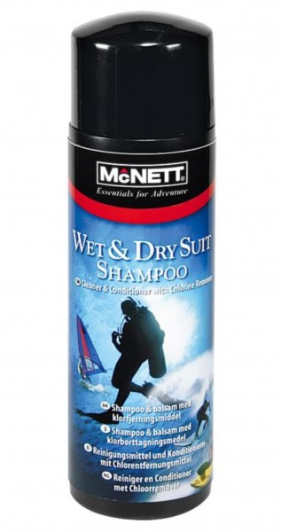 WET/DRY SUIT SHAMPOO, 250 ml
