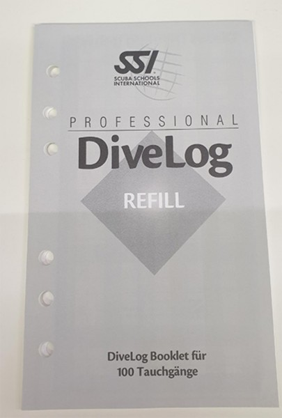Dive Professional Experience Booklet (100 Tauchgänge)