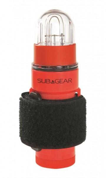 # Signalblinker mit Velcroband #